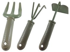 3pcs Garden Hand Tools Set Hoe Rake Cultivators >>> Continue to the product at the image link.