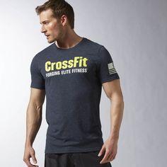 Reebok CrossFit Forging Elite Fitness T-Shirt - Blau