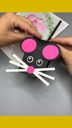 Hand Crafts For Kids, Animal Crafts For Kids, Diy Crafts For Gifts, Craft Activities For Kids, Easy Diy Crafts, Diy Arts And Crafts, Creative Crafts, Preschool Crafts, Art For Kids