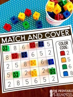 Click through to find a Numbers to 10 Assessment FREEBIE and activities that are just perfect for Kindergarten and PreK. In this post you'll find the assessment for numbers to 10 freebie, counting activities, whole group games, math centers, and much Counting Activities, Preschool Activities, Math Activities For Preschoolers, Letter S Activities, Nutrition Activities, Back To School Activities, Kindergarten Centers, Number Games For Kindergarten, Educational Games For Kindergarten