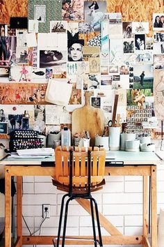 Anything That Inspires - Mood Boards As Decor  - Photos