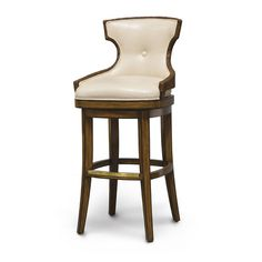 Kitchen Palecek Rhodes Bar Stool in Golden Ash Custom Upholstery