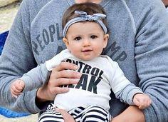 Wyatt - Baby daughter of Ashton Kutcher and Mila Kunis  (May 2015)