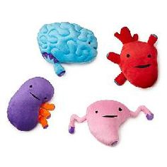 These just make me laugh. Plush Organs
