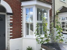 View a range of bay window shutters from Shuttersouth, Hampshire's leading shutter design and installation experts. Custom made bay shutters for all budgets Bay Window Shutters, Bay Windows, Shutter Designs, Southampton, Hampshire, Blinds, Range, Curtains, Dress