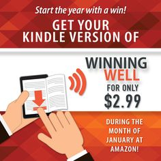 Start the new year with the Kindle copy of Winning Well for only $2.99!