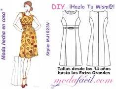 Many people enjoy trying to improve their fashion sense. Doll Clothes Patterns, Sewing Clothes, Clothing Patterns, Dress Patterns, Sell Old Clothes, New Fashion Trends, Dress Cuts, Couture, Sewing Patterns Free