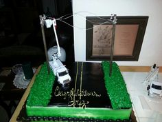 power lineman wedding cake topper birthday cake for electrical lineman my is 18705
