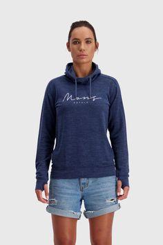 Mons Royale Women's Covert Lite Funnel Hood - Merino & Tencel - Weekendbee - sustainable sportswear Hoodies, Sweatshirts, Hooded Jacket, Sportswear, Fashion, Jacket With Hoodie, Moda, Fashion Styles, Parka