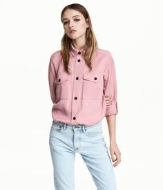 H&M Conscious Lycocell Utility Shirt | $35