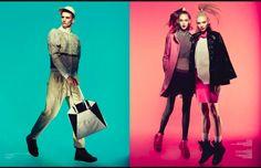 Fashion Editorial Colour Transparency