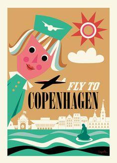 Ingela P Arrhenius  Ingela P Arrhenius    I am a Sweden- based illustrator. I have a quite naive style and love the design of the 50's and 60's. This is my place where I show my work and things that I like.
