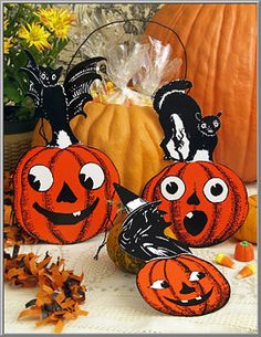 Halloween Shop: Spooky Halloween Die-Cuts on Blumchen.com