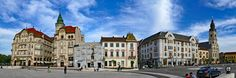Oradea: Piata Unirii (East side) | by daniel EGV East Side, One In A Million, Castles, Places To Visit, Louvre, Street View, Seasons, Explore, Mansions