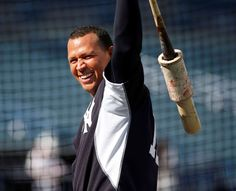 ALEX RODRIGUEZ THROUGH THE YEARS: -   Spring training return  -         Alex Rodriguez of the New York Yankees takes batting practice before the start of a spring training game March 12, 2015, at George M. Steinbrenner Field in Tampa, Fla.   -    © Brian Blanco/Getty Images