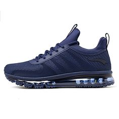 e1cec91f27cc ONEMIX Air Cushion Sports Running Casual Walking Sneakers Shoes for Men and  Women Deepblue 6.5B
