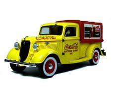 Coca Cola Delivery Truck FORD 1935 By Danbury Mint