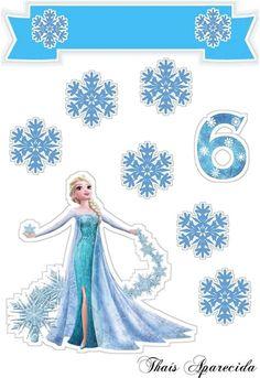 Frozen Birthday Party, Frozen Birthday Invitations, Disney Frozen Party, Frozen Cupcake Toppers, Frozen Cake Topper, Birthday Cake Toppers, Bolo Frozen, Frozen Pictures, Custom Cake Toppers