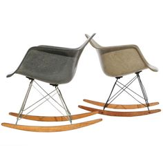 Zenith Shell Rocking Chair RARe by Charles and Ray EAMES