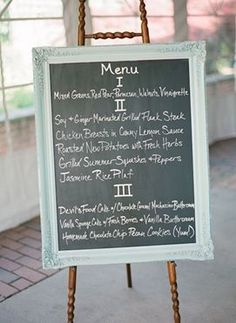 REVEL: Chalkboard Menu