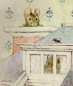 illustration from The Tale of Two Bad Mice by Beatrix Potter Jessie Willcox Smith, Beatrix Potter Illustrations, Beatrice Potter, Peter Rabbit And Friends, Marjolein Bastin, Children's Book Illustration, Book Illustrations, Soft Sculpture, Childrens Books