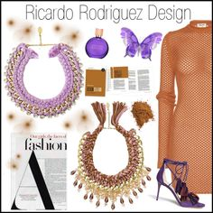 Ricardo Rodriguez Design 3 by gaby-mil on Polyvore featuring Acne Studios, Jimmy Choo, Estée Lauder and ricardorodriguezdesign