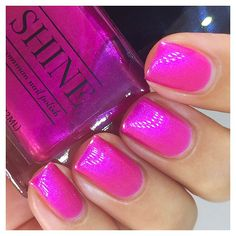 Who's Your Momma Now - Electric Pink/Fuchsia Color Shifting Nail Polish