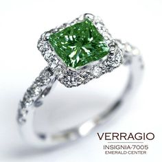 What a gorgeous Emerald for St. Patty's Day!