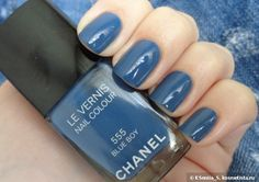 Chanel Le Vernis Nail Colour 555 Blue Boy