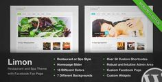 Download and review of Limon - A Restaurant and Spa Wordpress Theme, one of the best Themeforest Entertainment themes {Download & review at Review and download at} { -> }http://best-wordpress-theme.net/limon-a-restaurant-spa-download-review/