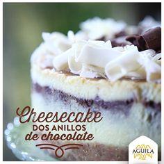 Cheesecake Dos Anillos de #Chocolate