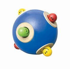 best-baby-toys Wonderworld Peek-a-Boo Ball Handmade Wooden Toys, Wooden Baby Toys, Wooden Toys For Toddlers, Toddler Toys, Toddler Stuff, Kids Toys, Baby Play, Baby Kids, Child Baby