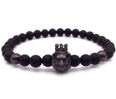 Lion Charm Bracelet - This stone helps with optimism, will and courage; direct link to feelings of stability and security; induces a deep restful sleep, dissolves negativity and protects the soul. Optimism, Bracelets For Men, Stability, Lion, Sleep, Charmed, Feelings, Luxury, Accessories