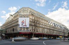 façade galeries lafayette