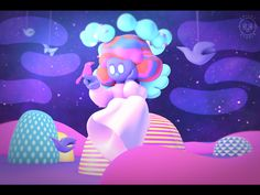 [3D Loop] The waiting Birth on Behance