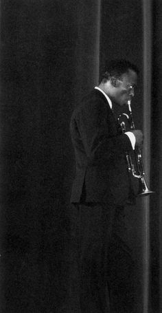 """themaninthegreenshirt:  """"Anybody can play. The note is only 20 percent. The attitude of the motherfucker who plays it is 80 percent."""" Miles Davis"""