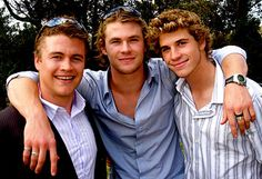 Young Hemsworth Brothers, Luke, Chris & Liam | Tumblr