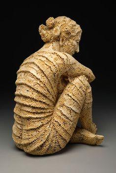 ceramics honeycomb figure