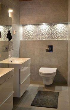 half Bathroom Decor 31 beautiful half bathroom ideas for your home 19 - Modern Toilet, Small Toilet, Bathroom Design Luxury, Modern Bathroom Design, Bath Design, Bathroom Designs, Ideas Baños, Toilet Design, Small Bathroom