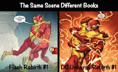 7 Interesting Things About The Flash Rebirth #1 -#FlashGirlBlogs Wally West is back and so much more in DCComics rebirth series!