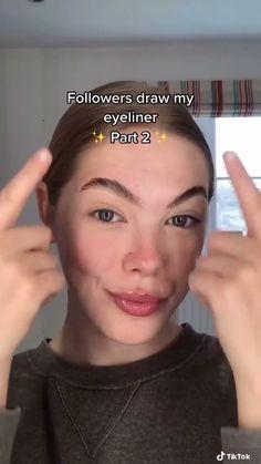 Makeup Emoji, Eye Makeup Art, Beauty Makeup, Hair Beauty, Emoji Challenge, Natural Prom Makeup, Animal Humour, Cute Rats, Eyeliner Looks