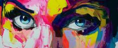 http://www.francoise-nielly.com/index.php/galerie - large format portraits done in palette knife; lots of color; some multiple views