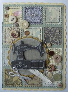 Spellbinders Sewing by: Papersniffer