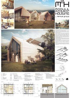 The Best Architecture Portfolio Designs Architecture Presentation Board, Architecture Design, Module Architecture, Modern Farmhouse, Building A House, House Plans, House Design, Houses, Roofing Contractors