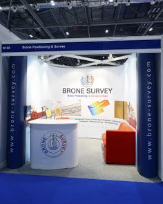Prestige Exhibition Stand for Brone Survey at Oceanology International 2014