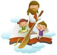Jesus bible boat children's