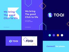 Toqi - Identity system designed by Ahmed creatives. Connect with them on Dribbble; the global community for designers and creative professionals. Stationery Design, Brochure Design, Branding Design, Design Packaging, Label Design, Package Design, Corporate Identity Design, Visual Identity, Identity Branding
