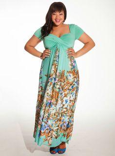 Grandiosos vestidos de moda para gorditas 2015