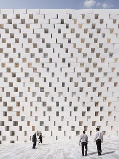 New District Court House - #Jerusalem, Israel - 2014 by be baumschlager eberle #white #architecture