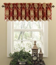 Rose Momento Merlot Chatham Valance - Waverly